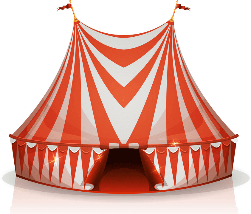 Circus Tent clipart free images