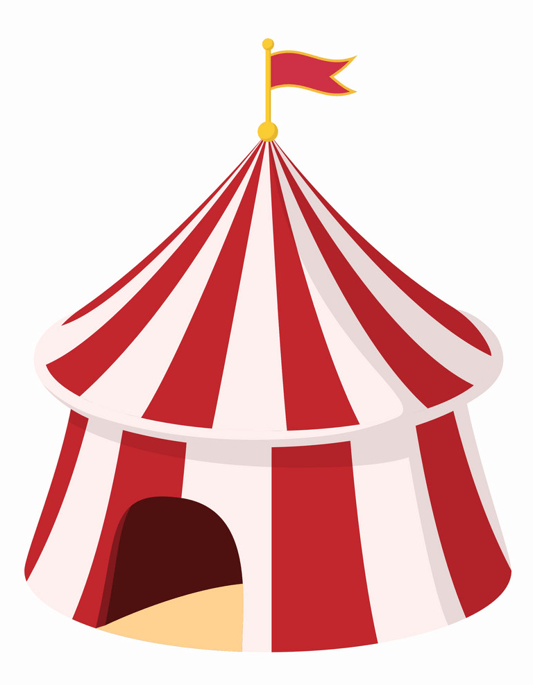 Circus Tent clipart images