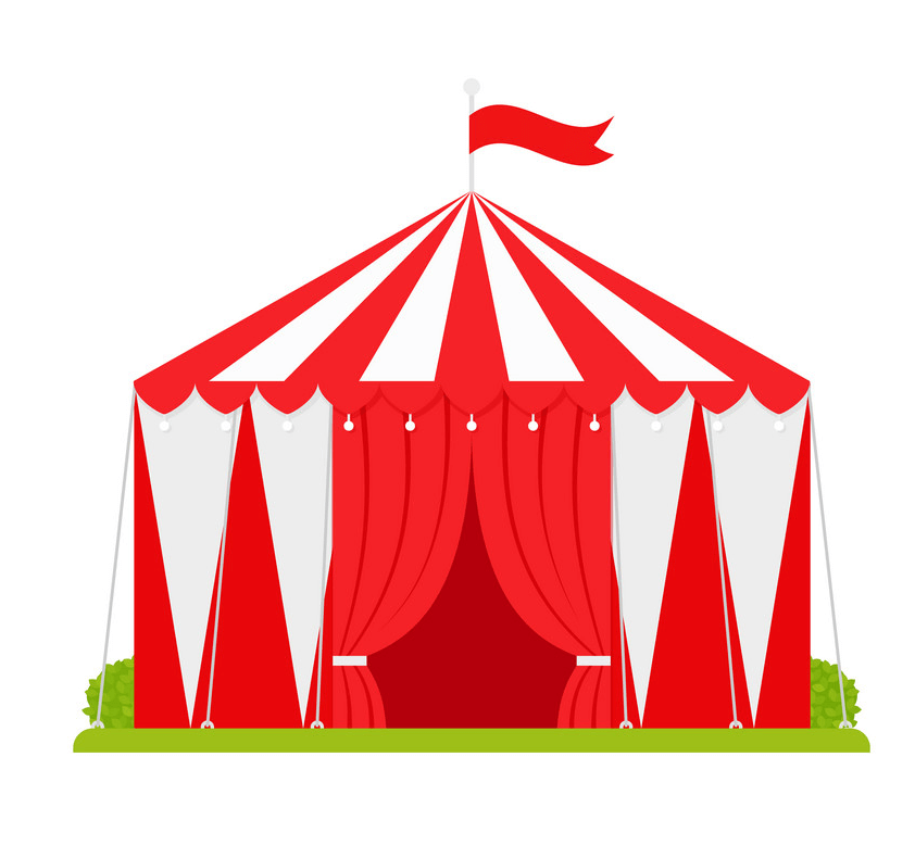 Circus Tent clipart png download