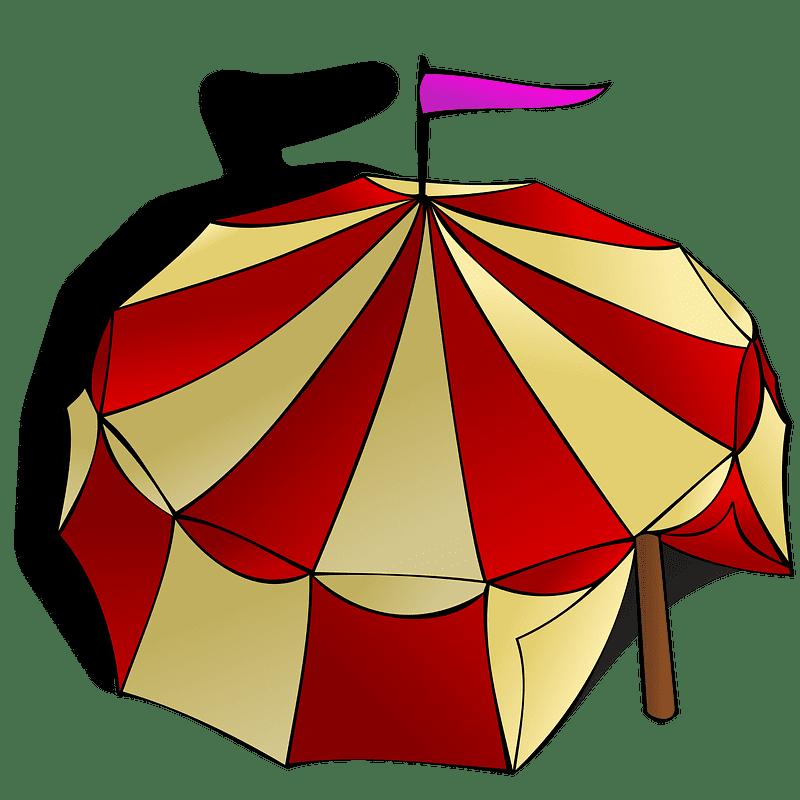 Circus Tent clipart transparent 1