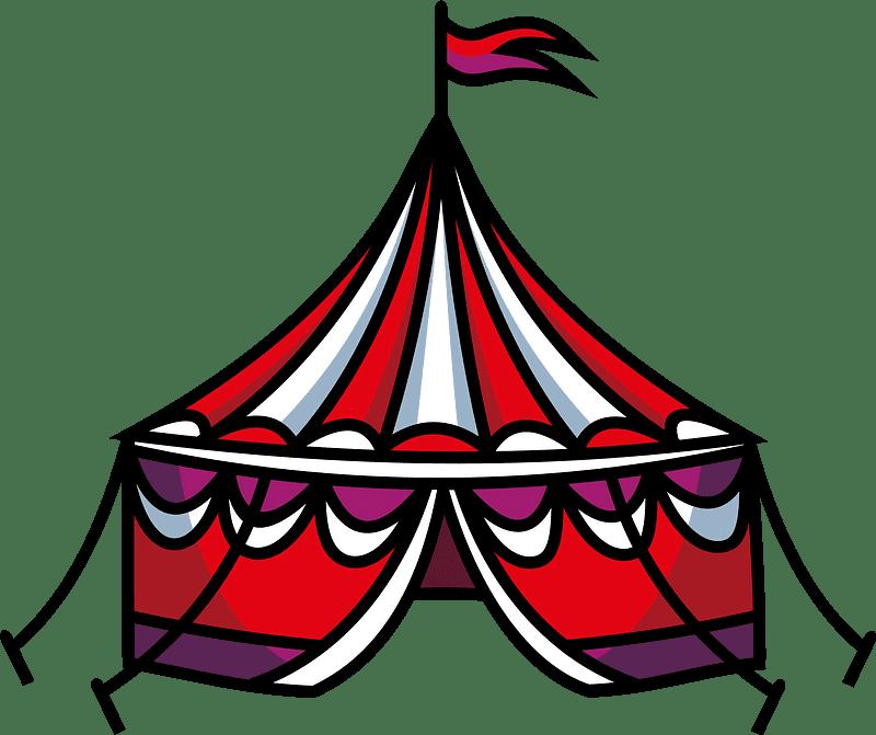 Circus Tent clipart transparent 2