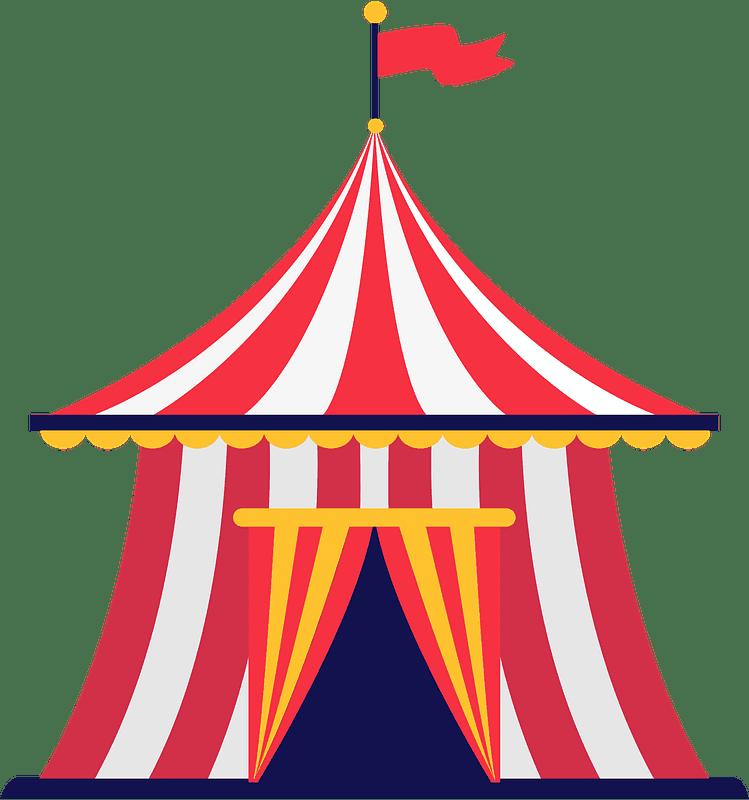 Circus Tent clipart transparent 4