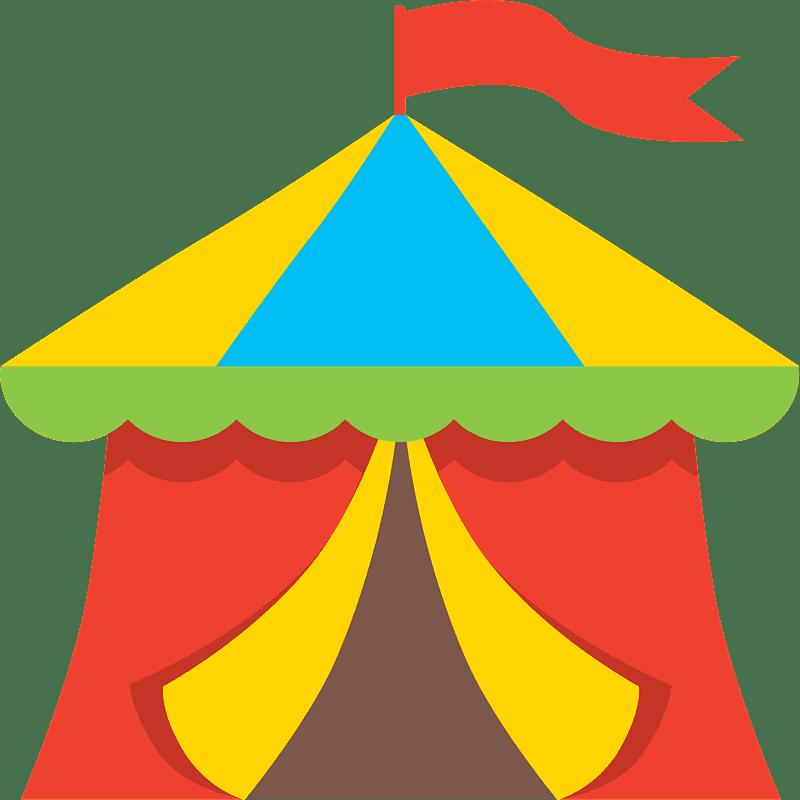 Circus Tent clipart transparent 5