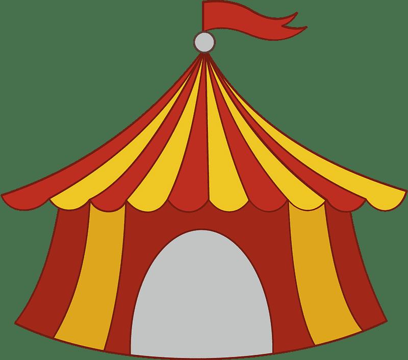 Circus Tent clipart transparent 6