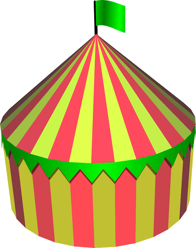 Circus Tent clipart transparent 8
