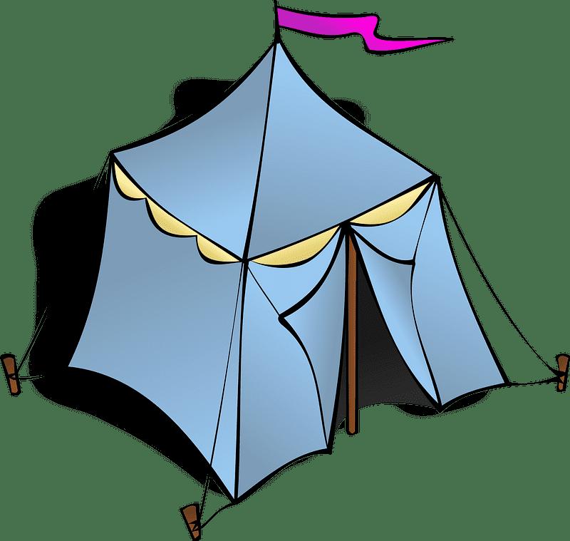 Circus Tent clipart transparent