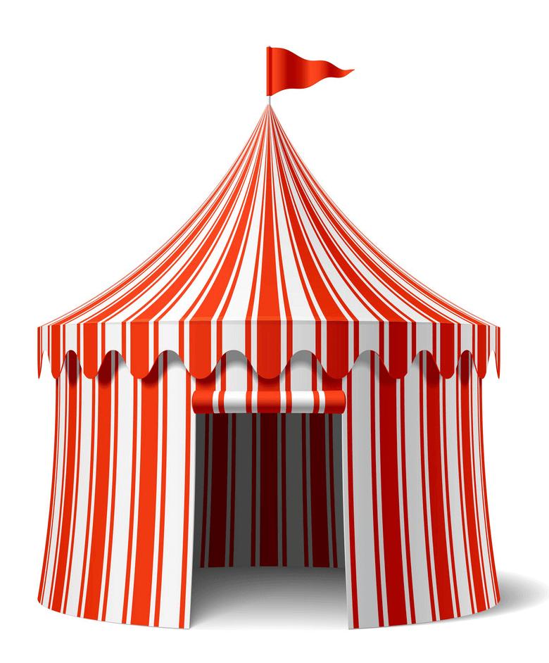 Circus Tent clipart