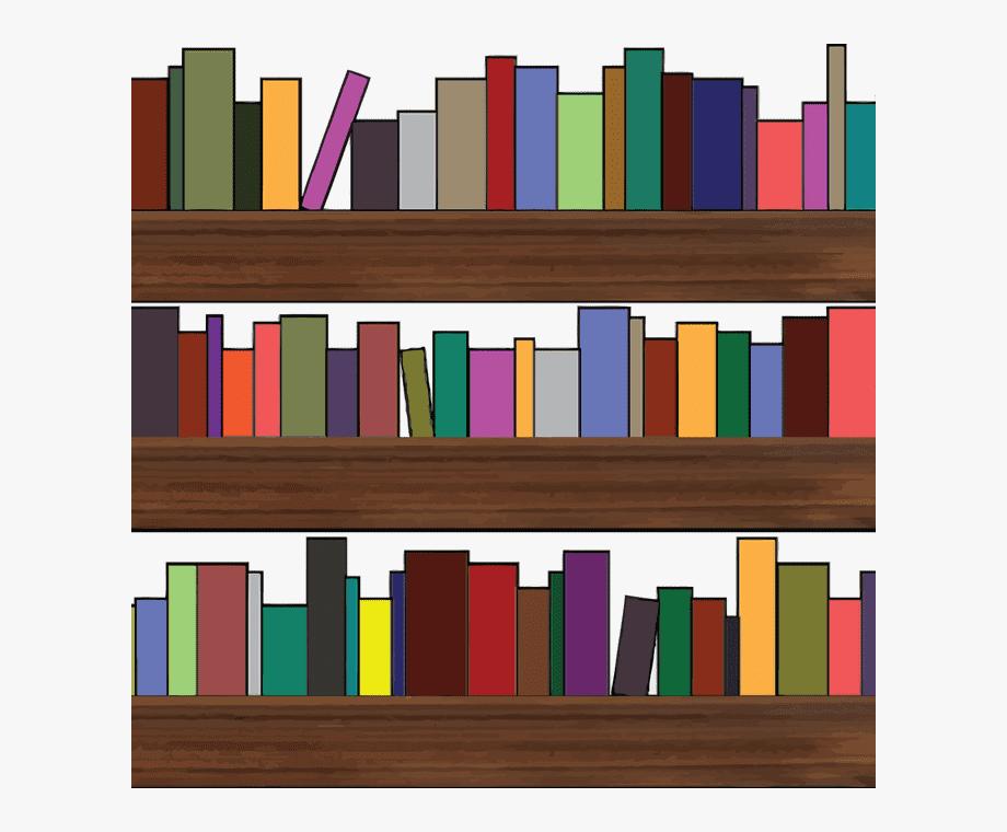 Clipart Bookshelf 4