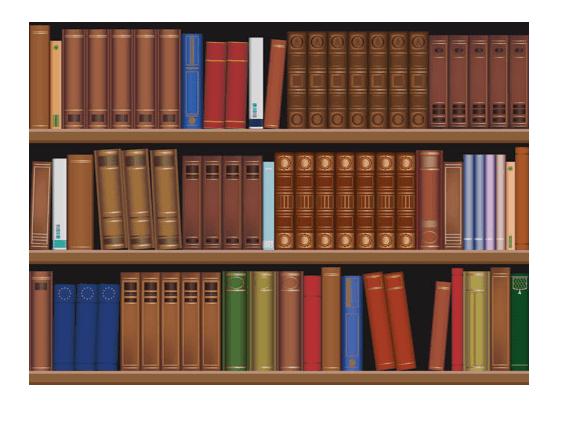 Clipart Bookshelf 8