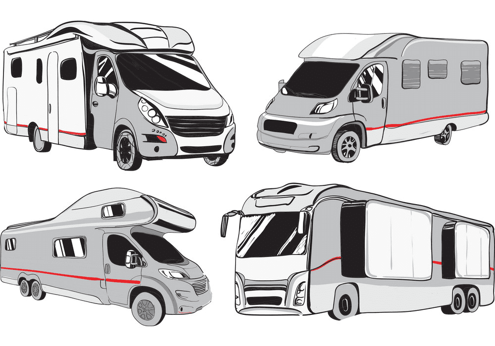 Clipart Camper png free