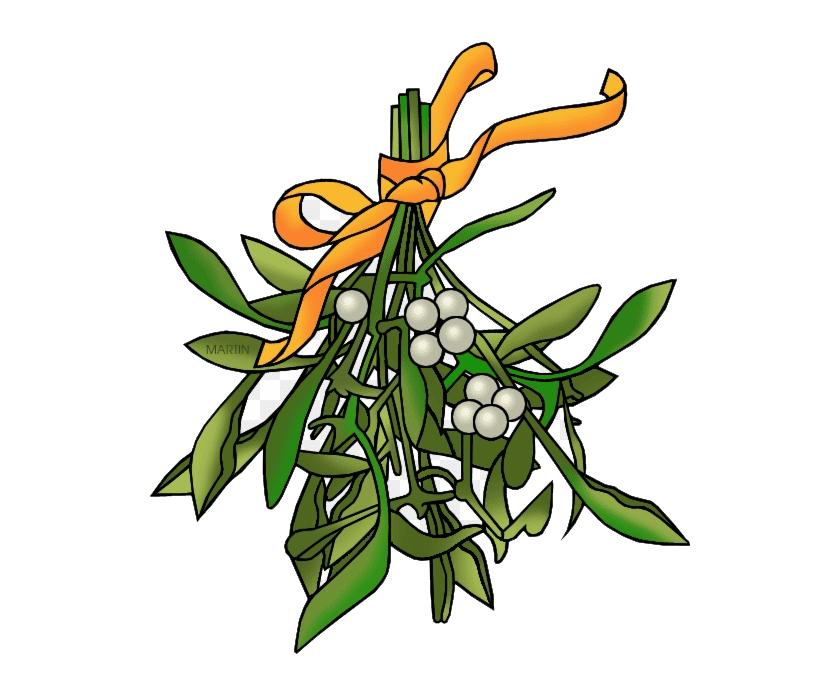 Clipart Mistletoe 1