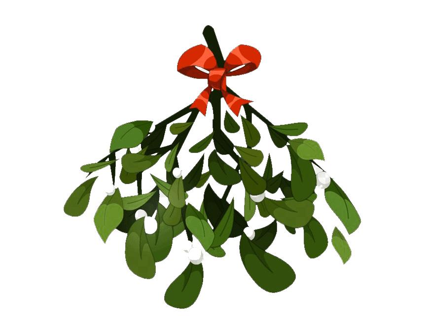 Clipart Mistletoe 2