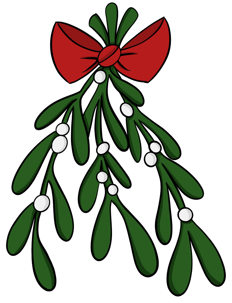 Clipart Mistletoe 7