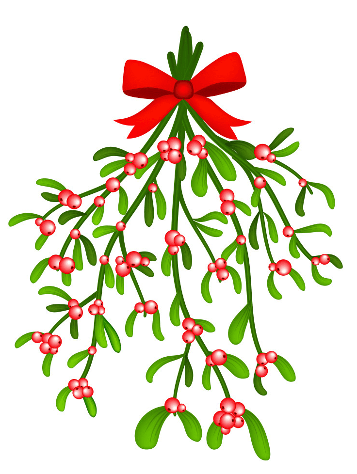 Clipart Mistletoe free