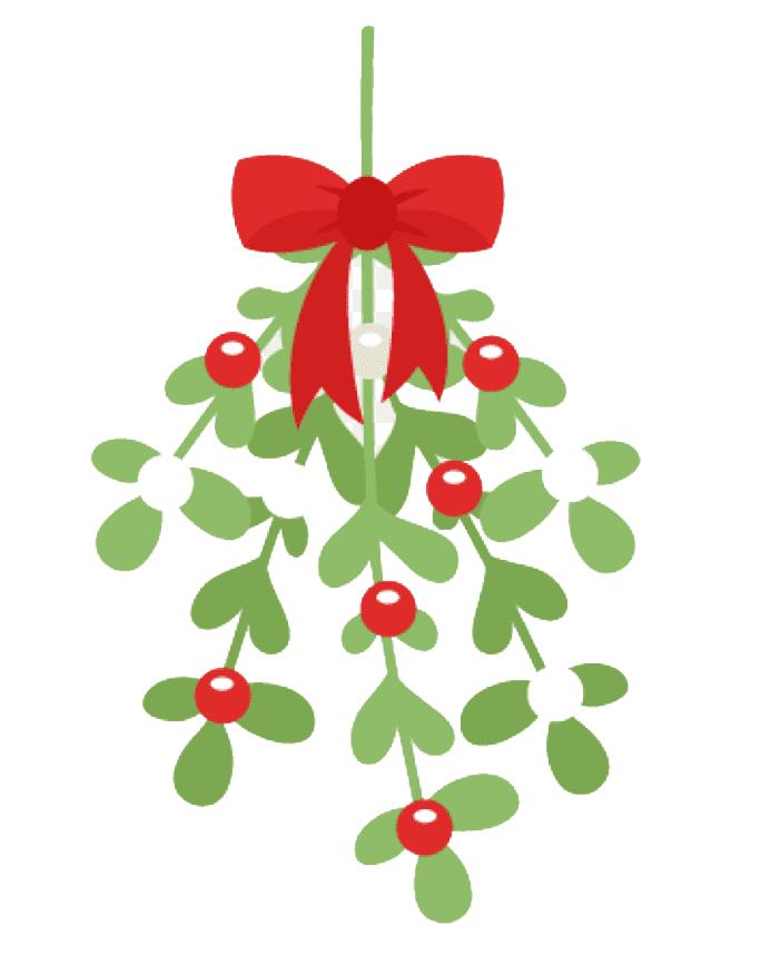Clipart Mistletoe image
