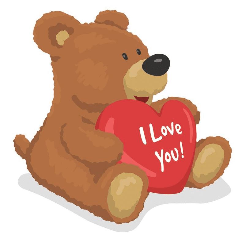 Clipart Teddy Bear 4