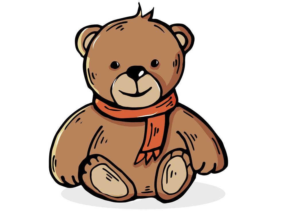 Clipart Teddy Bear 5