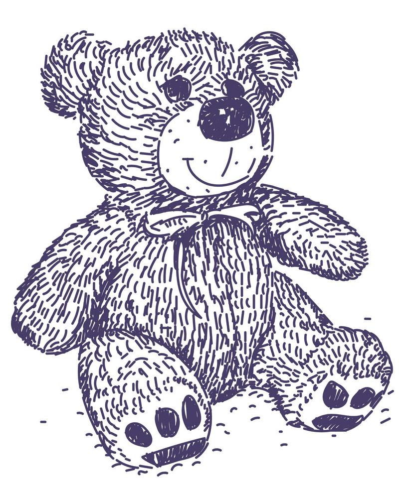 Clipart Teddy Bear free