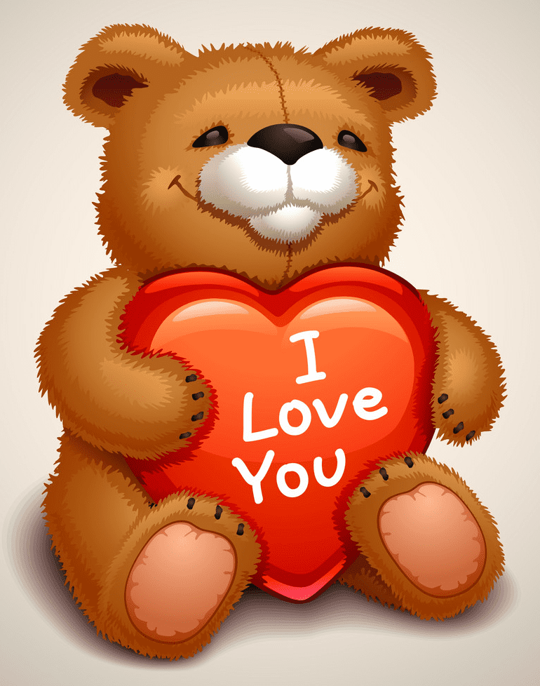 Clipart Teddy Bear png image