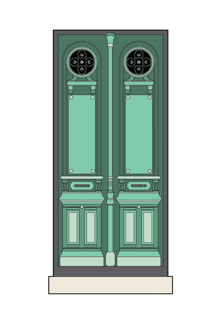 Close Door clipart for free