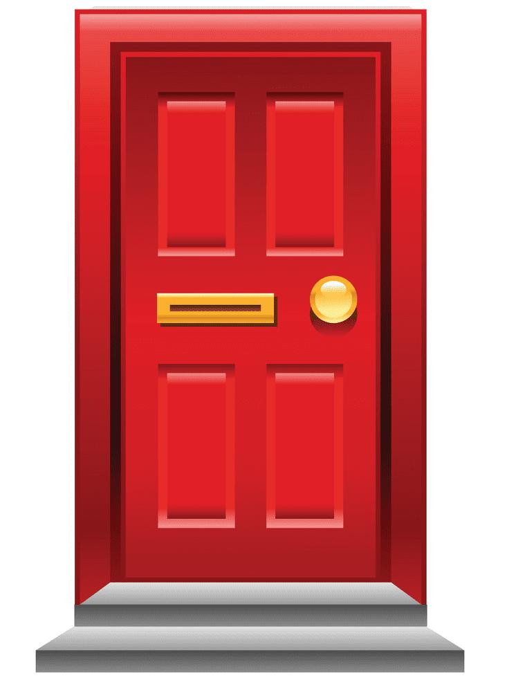 Close Door clipart free images