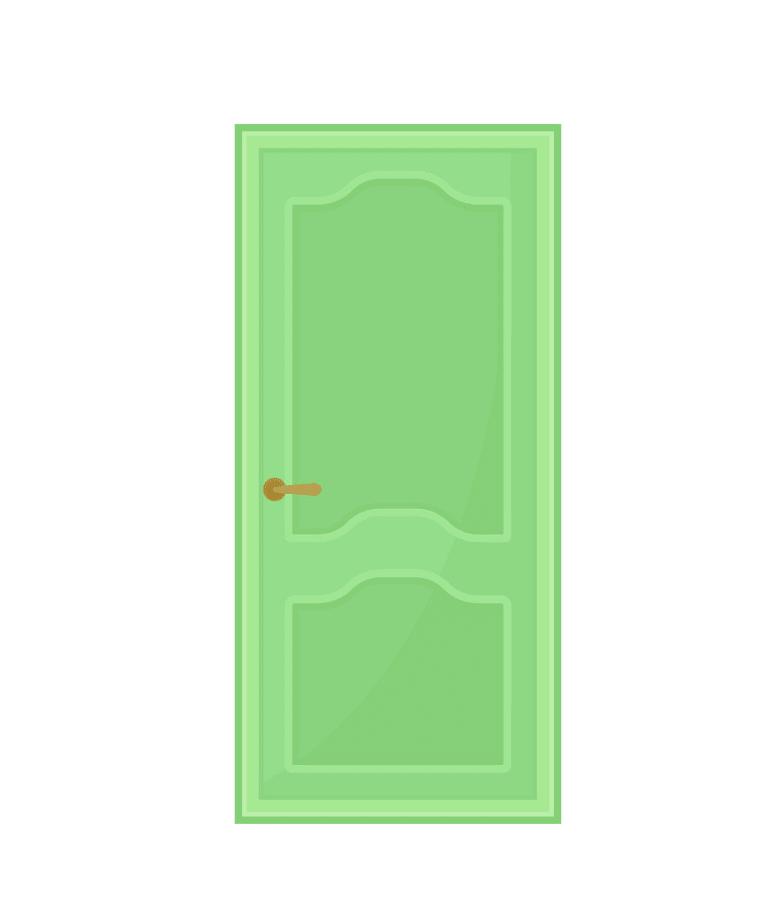 Close Door clipart free