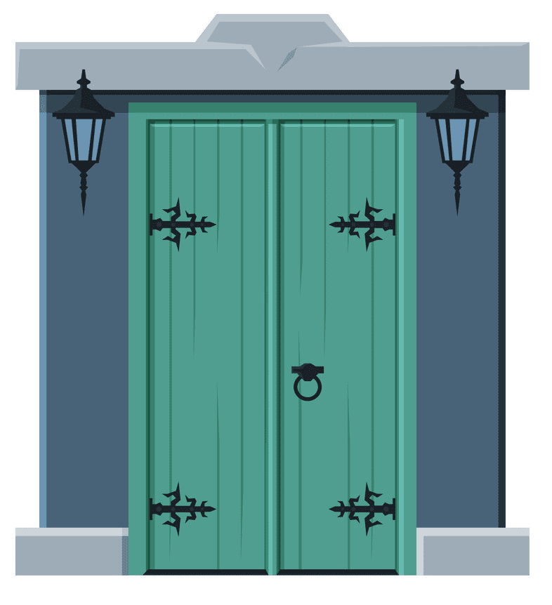 Close Door clipart png