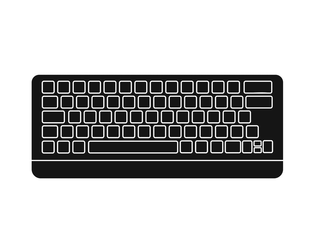 Computer Keyboard clipart png image