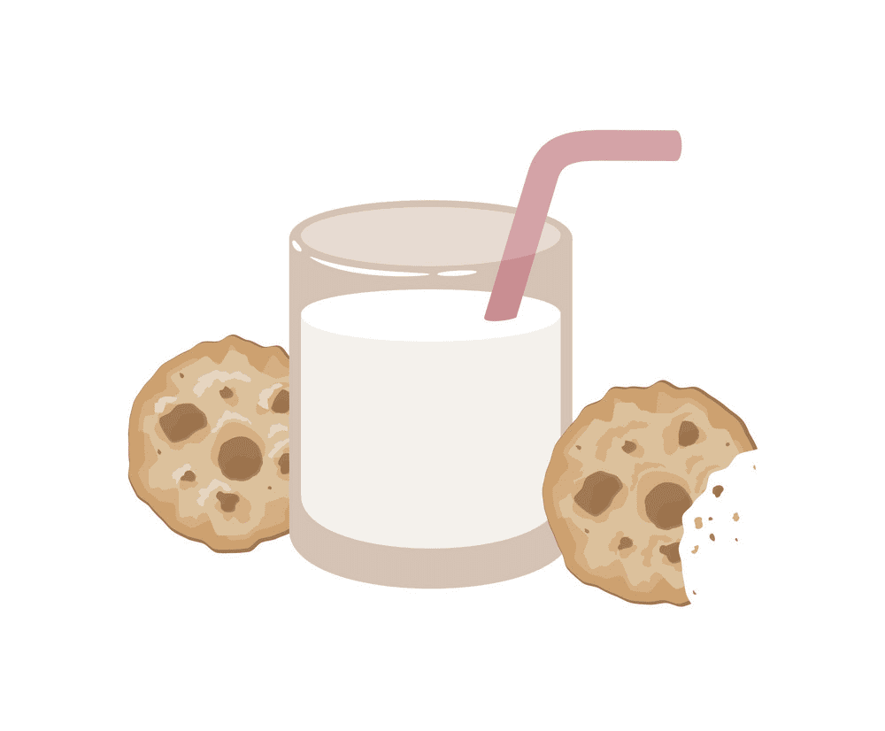 Cookies and Milk clipart image