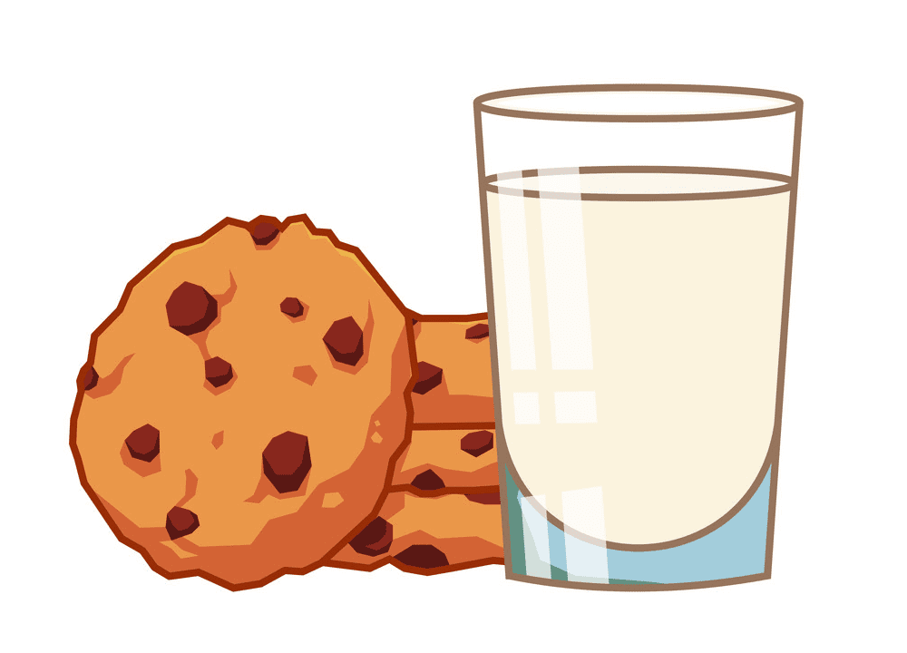 Cookies and Milk clipart images