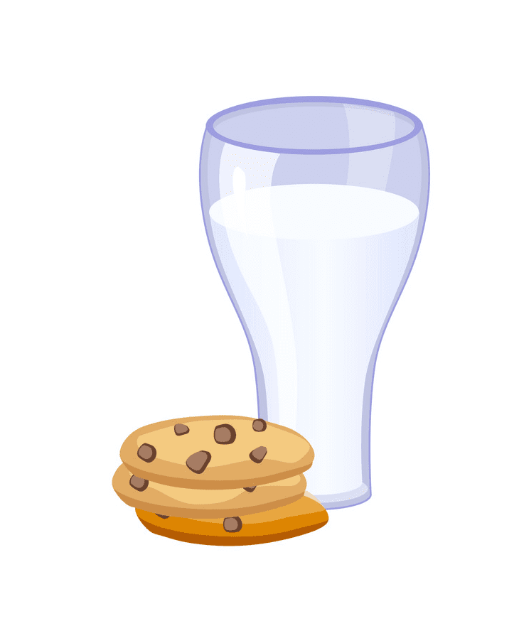 Cookies and Milk clipart png image