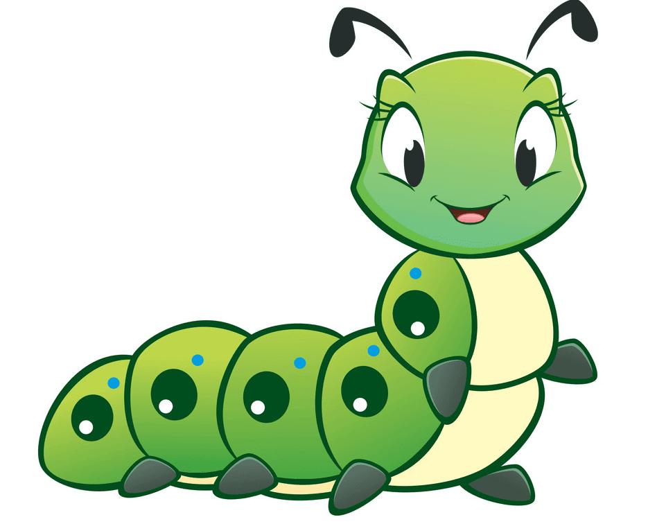 Cute Caterpillar clipart images