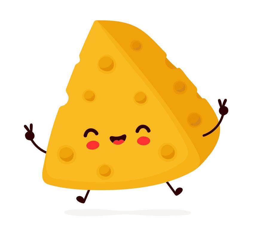 Cute Cheese clipart free