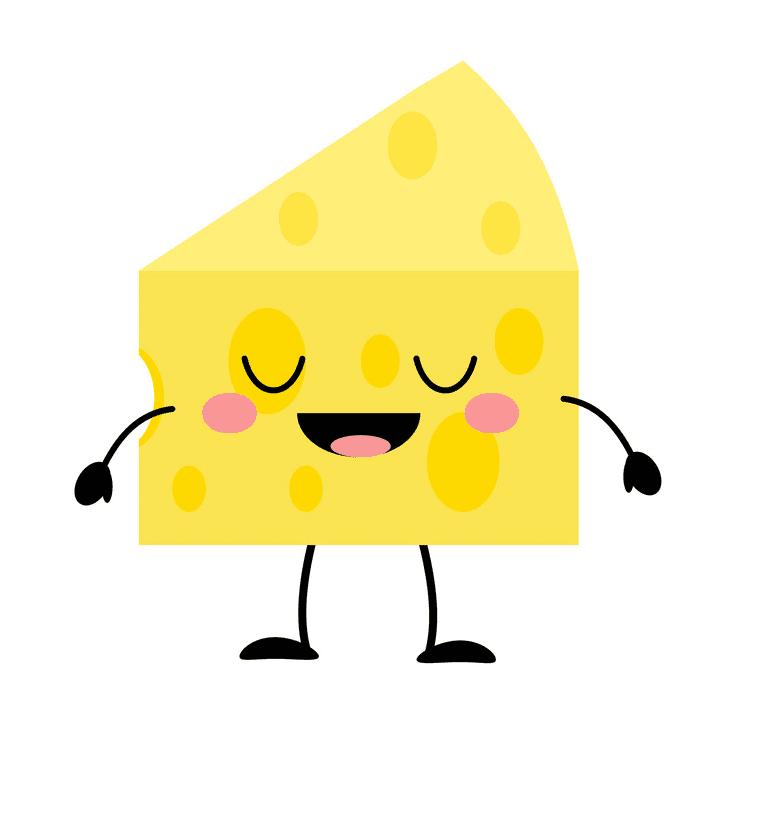 Cute Cheese clipart