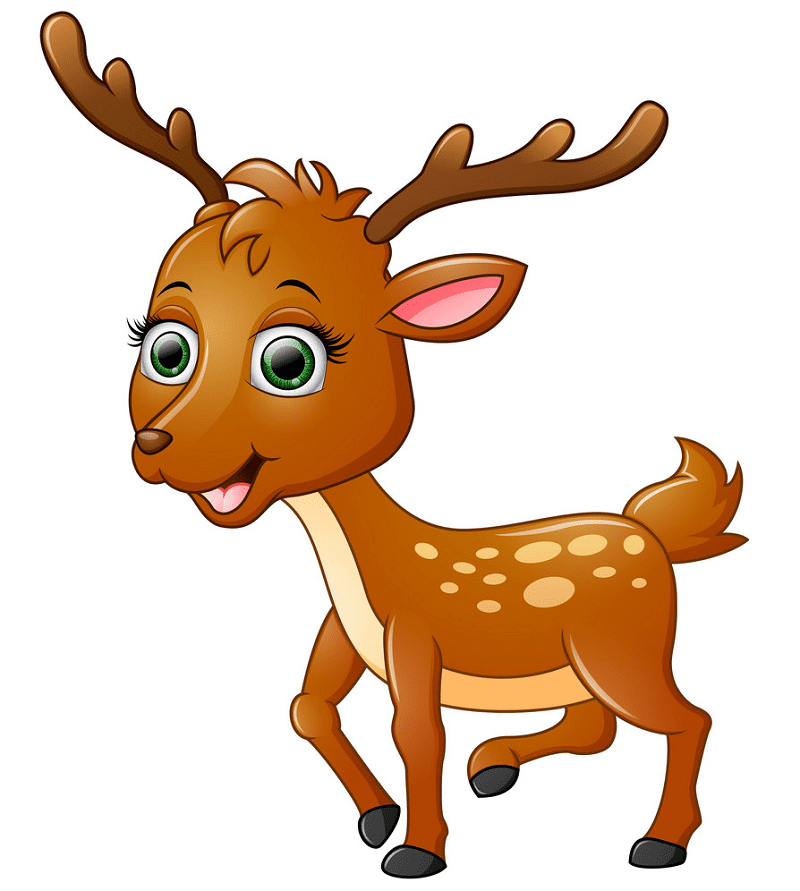 Cute Deer clipart images