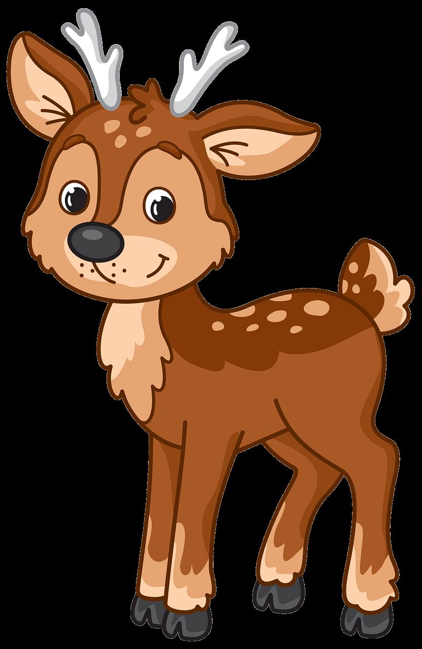 Cute Deer clipart transparent
