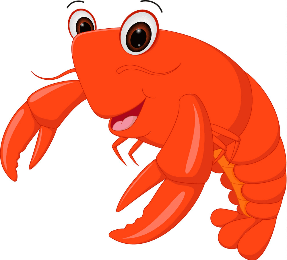Cute Lobster clipart free images