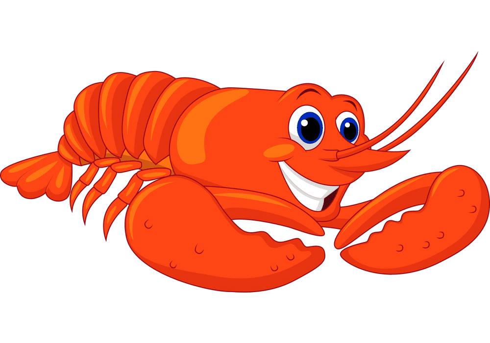 Cute Lobster clipart free