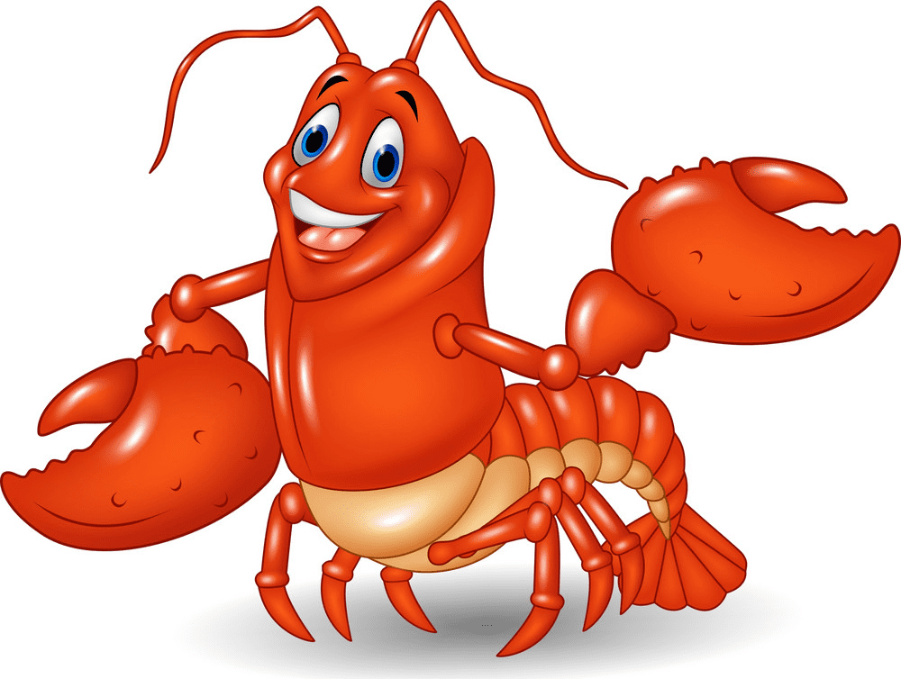 Cute Lobster clipart png image