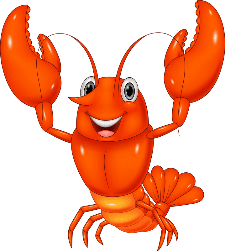 Cute Lobster clipart png images