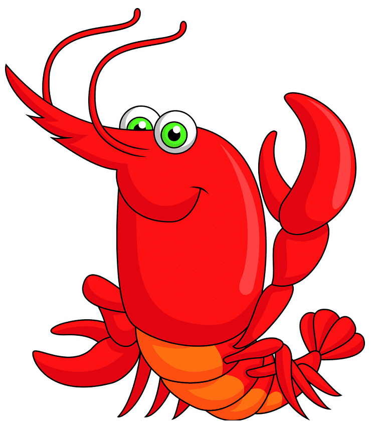 Cute Lobster clipart png