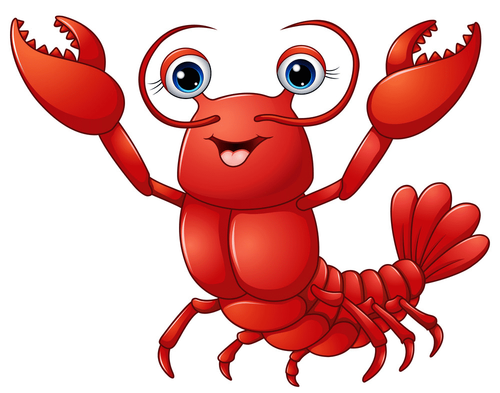 Cute Lobster clipart