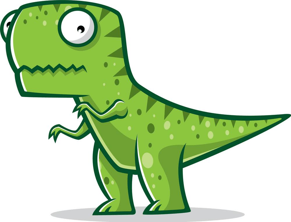 Cute T-Rex clipart 1