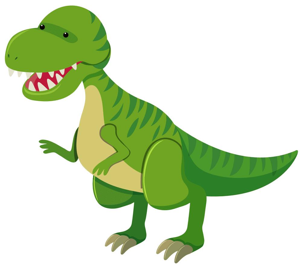 Cute T-Rex clipart 10