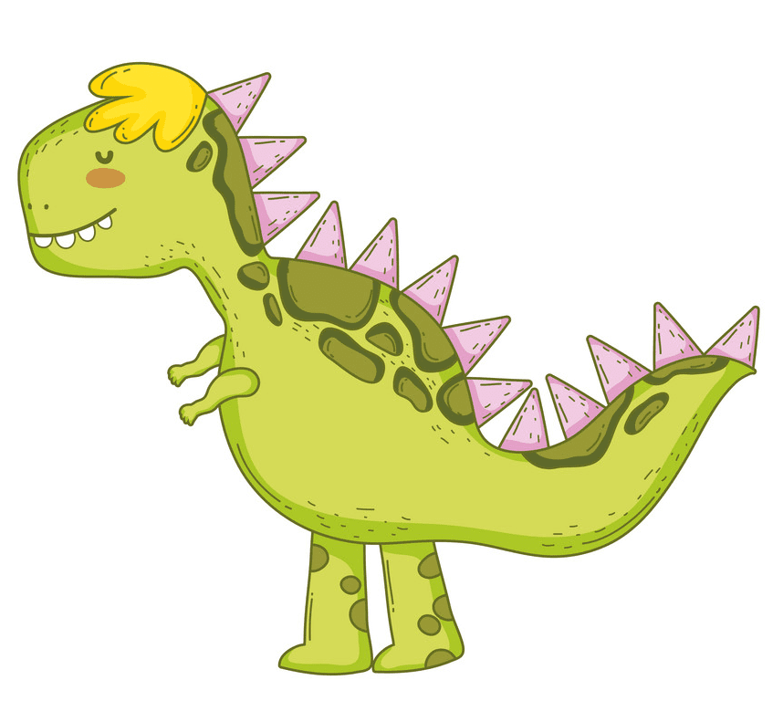 Cute T-Rex clipart 2