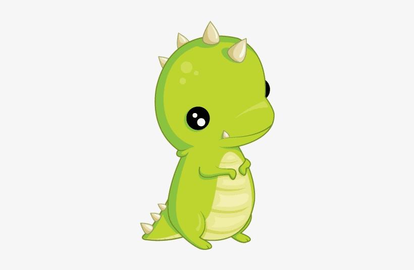 Cute T-Rex clipart 5