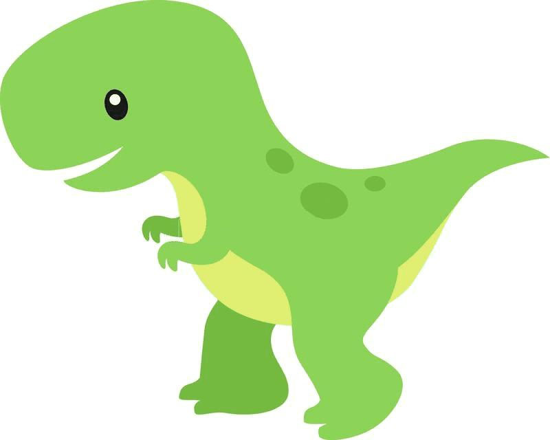 Cute T-Rex clipart 6