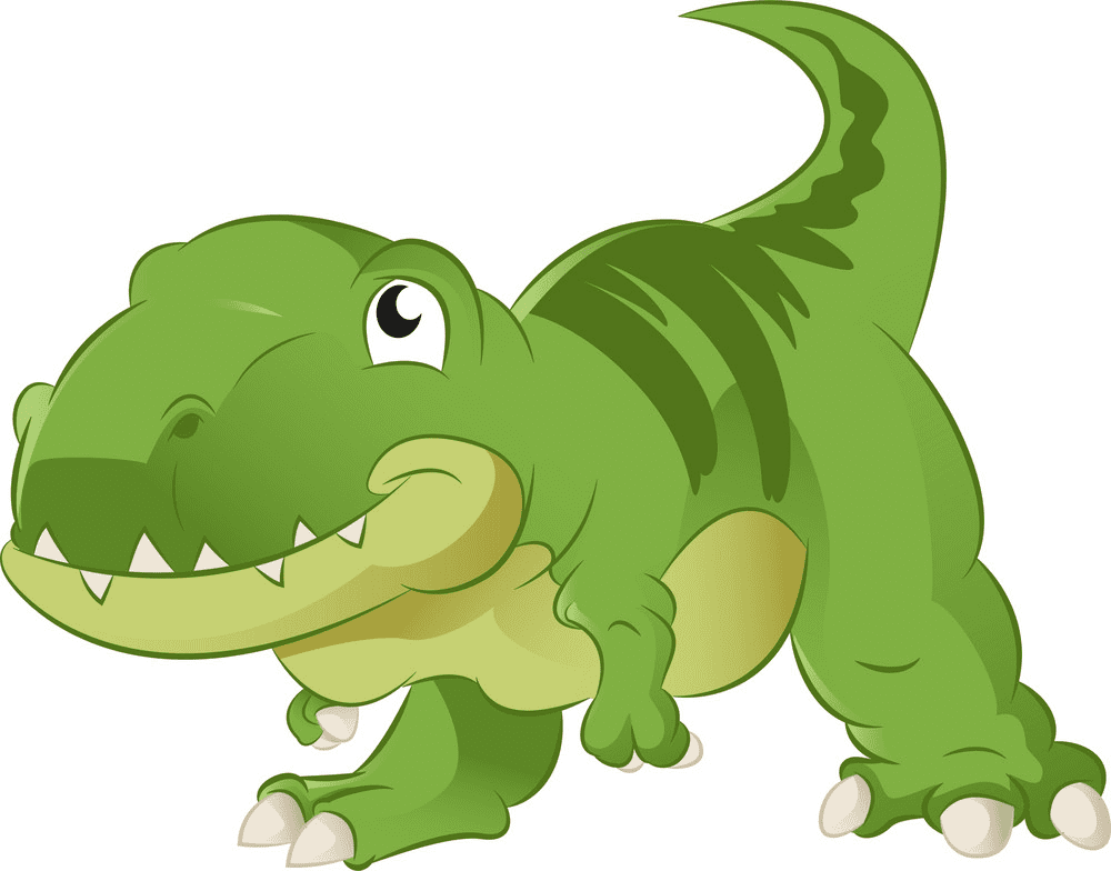 Cute T-Rex clipart for free