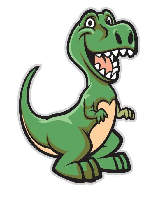 Cute T-Rex clipart free image