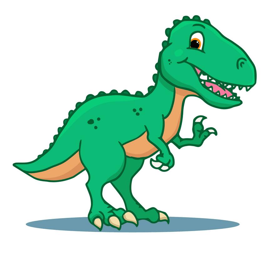 Cute T-Rex clipart free